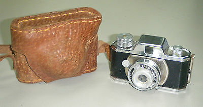 Vintage Baby Max Miniature Spy Camera made Japan c1951 with Case