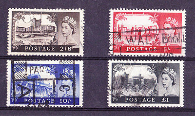 Great Britain Scotts # 371-374 USED