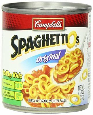Campbells SpaghettiOs Healthy Kids, Original, 7.5 Ounce Pack of 24