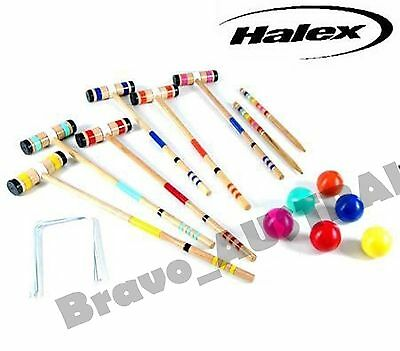 Halex Select Croquet Set with Carry Bag - Up to 6 Players