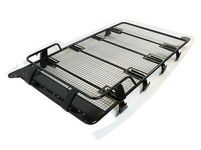 Land Rover Discovery 3 & 4 Troop1 Expedition Heavy Duty Roof Rack Black Steel