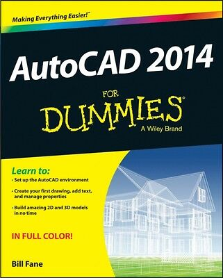 AutoCAD 2014 For Dummies (Paperback), Fane, Bill, 9781118603970