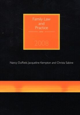 Family Law and Practice (Paperback), Nancy Duffield, Jacqueline K. 9781905391462