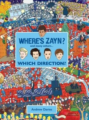 Where's Zayn?: Which Direction? (Hardcover), DAVIES, ANDREW, 9781...