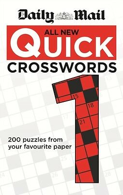 Daily Mail: All New Quick Crosswords 1 (The Daily Mail Puzzle Books) (Paperback)