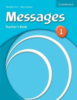 Messages 1 Teacher's Book (Paperback), Levy, Meredith, Goodey, Di...