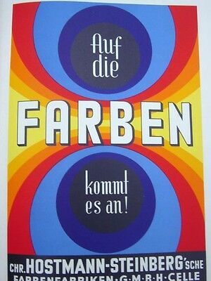 Rare 1937 Art Deco German Poster Book With Original Posters A.m. Cassandre