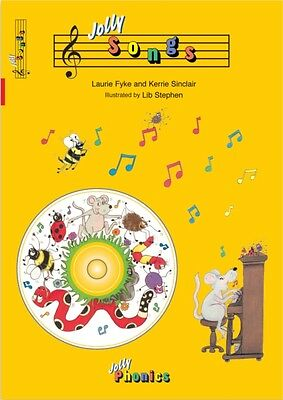 Jolly Songs (Jolly Phonics) (Perfect Paperback), 9781844140695