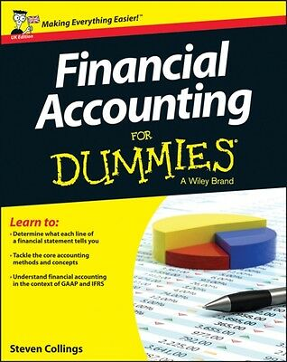 Financial Accounting For Dummies (UK Edition) (Paperback), Collin. 9781118554371