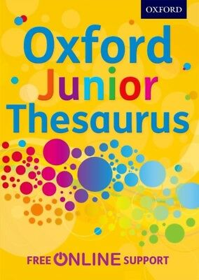 Oxford Junior Thesaurus (Hardcover), Oxford Dictionaries, 9780192...