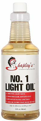 Shapley's No 1 light oil horse coat conditioner and skin care 946ml