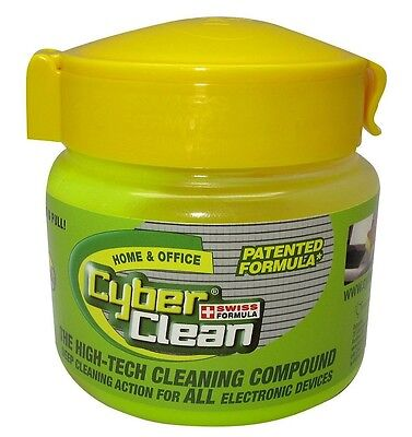 Cyber Clean Home & Office High-Tech Cleaning Compound - Reusable Cup 145g NEW