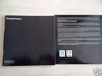 Sony Ericsson W960 Original User Manual +CD-ROM