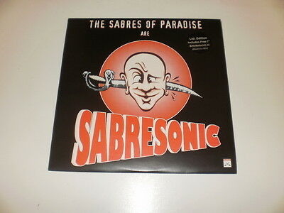 The Sabres Of Paradise - Sabresonic - 2 Lp Warp Records 1993 Made In Uk - Nm/ex