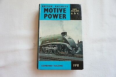 1963 BR Locomotives Motive Power Combined abc Volume Book Ian Allan Unmarked