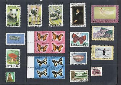 s243 Korea / A Small Collection Early & Modern Used + Hinged Mint