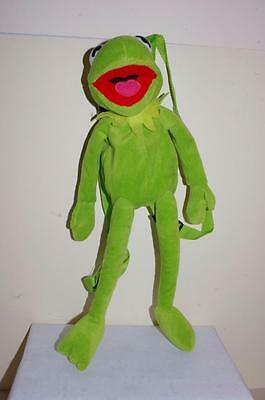 The Muppets - Kermit The Frog Bag Back Pack Soft Plush Toy