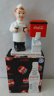 Enesco 1999 Coca Cola  Diner Salt And Pepper Shaker MIB #G646