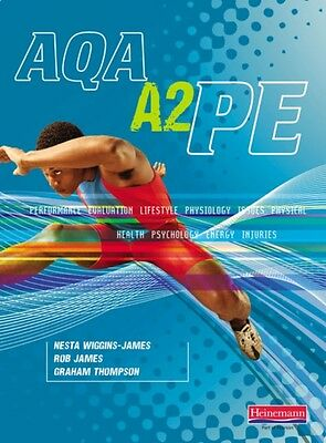 AQA A2 PE: Student Book (Paperback), James, Rob, Wiggins-James, N. 9780435499501