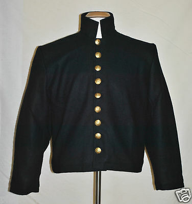 Officers 9-Button Shell Jacket (Sizes 52-60) Navy Blue