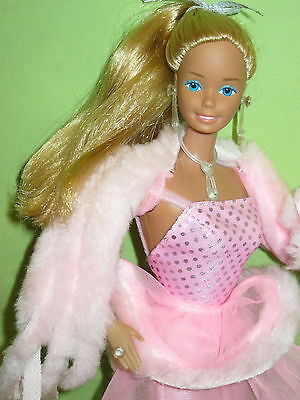 VINTAGE Superstar Era BARBIE 1982 PINK 'N PRETTY DOLL +Complete Outfit & Jewelry