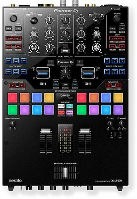Pioneer Djm-S9 Professional 2-Channel Serato Ready Battle Mixer Performance Pads