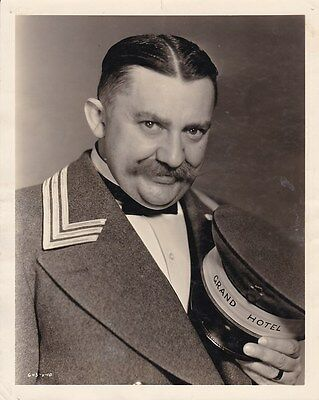 JEAN HERSHOLT Original Vintage 1932 GRAND HOTEL Milton Brown Stamped MGM Photo