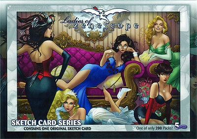 5finity Ladies of Zenescope 2016 NYCC Factory Sealed Sketch Card Pack