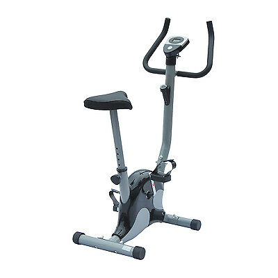 Stationary Indoor Cycling Machine Exercise Bike Home Gym Cardio Fitness w/ LCD