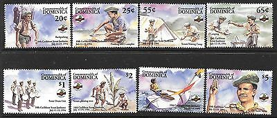 Dominica Sg1857/64 1994 Scouts Mnh