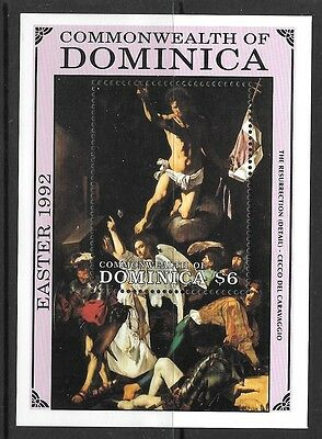 DOMINICA SGMS1537b 1992 EASTER MNH