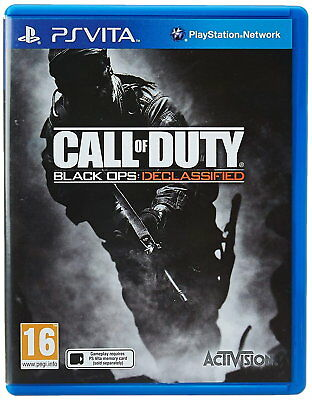 Call Of Duty: Black Ops - Declassified (PlayStation Vita) [NEW GAME]