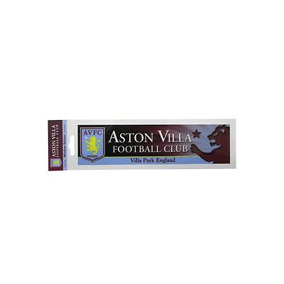 Aston Villa Oblong Window Sticker