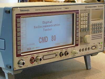 Rohde & Schwarz / Tektronix CMD80 Digital Radiocommunication Tester 1050.9008.85