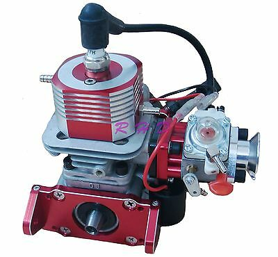 26cc Side Exhaust Marine Gas Engine for Racing Boat ZENOAH CNC water cooling