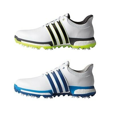 Adidas 2016 Tour360 Boost Waterproof Leather Mens Golf Shoes (Medium Width)