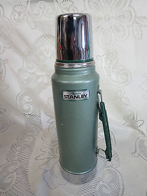 Aladdin Stanley Steel Thermos No. A-944DH 1 Quart Green