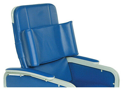 Three Position Drop Arm Convalescent Recliner without Tray Moss Green Standard