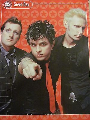 Green Day, Full Page Pinup