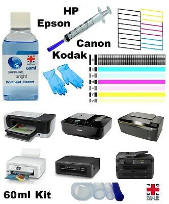 Printer nozzle unblocker for Canon HP Kodak Epson Printhead print head cleaner k