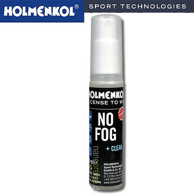 Holmenkol No Fog + clean Nano-Antibeschlagsmittel 20ml