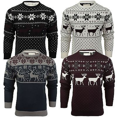 Mens Christmas Jumper by Soul Star