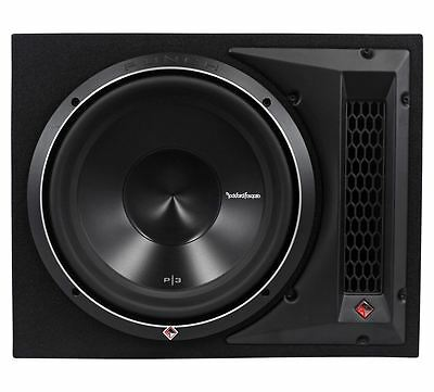 "Rockford Fosgate Punch P3-1X12 12"" 1200W 1-Ohm Loaded Subwoofer/Sub+Enclosure"