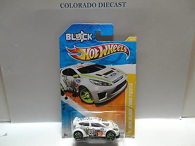 2011 Hot Wheels #40 White Ken Block '11 Ford Fiesta ERROR w/2 Ses of Windows