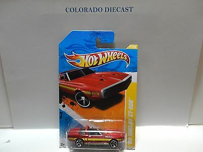 2011 Hot Wheels #21 Red '69 Shelby GT-500 ERROR w/Double Side Tampo's