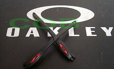 Side Arm Temples Aste Oakley 9171 Racing jacket polished Black Icon Anodized Red