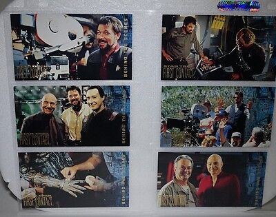 Star Trek First Contact Behind the Scenes Trading Card  BS1-10
