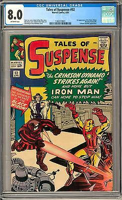 Tales of Suspense #52 CGC 8.0 (OW) 1st Appearace of Black Widow