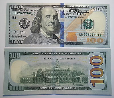 1 Brand New    $100.oo Note  Federal Reserve