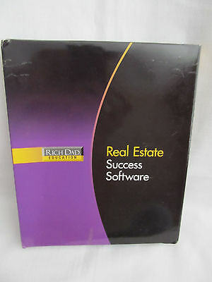 New Open Box Rich Dad's Educations Real Estate Success Software System